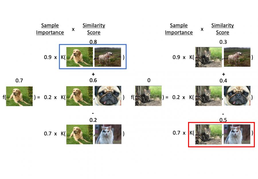 Representer Point Selection for Explaining Deep Neural